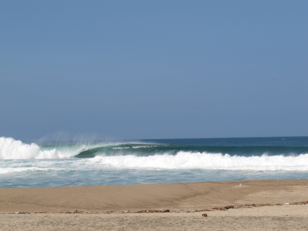 Surf's up at Puerto Escondido