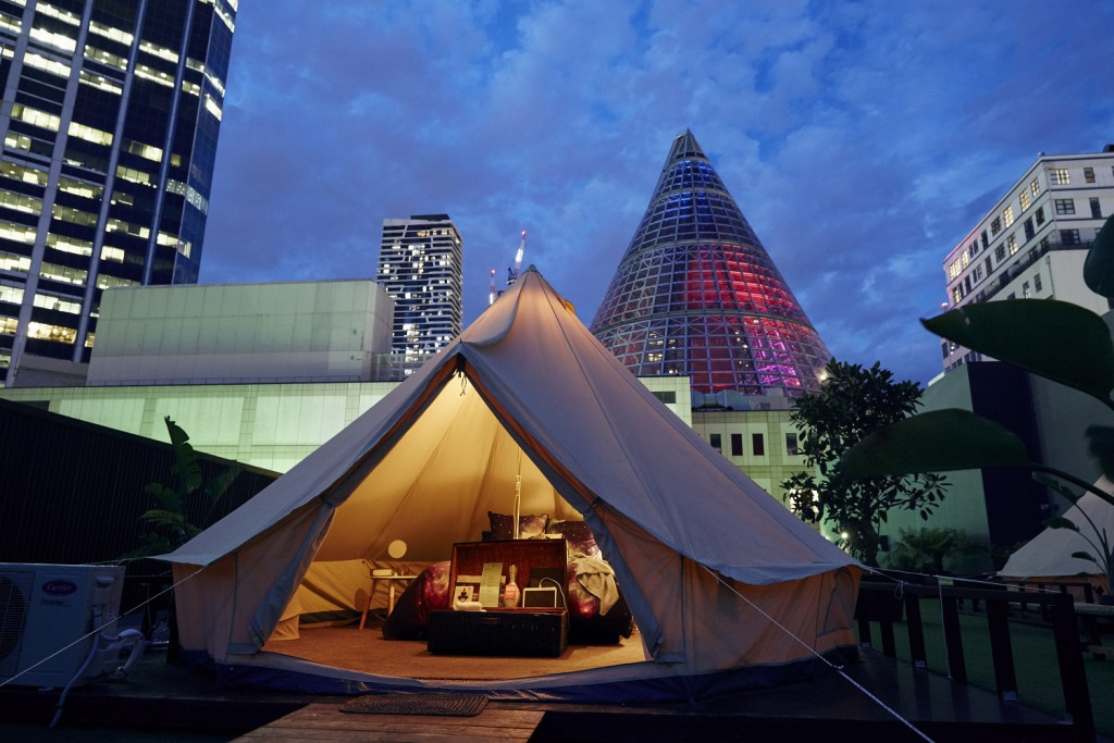 The rise of urban glamping in Melbourne